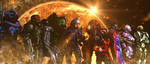 ME3: Impure Squad - the Team by SlipperyHammer