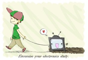 Excersise your electronics by 0xyMoron42