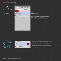 PS: Lineart Coloring Tutorial by cinyu