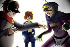 .:South Park- Collab:. Let's Fight by N-Lilix