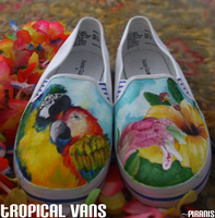 tropical shoes by Piranis