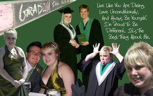 My Graduation Background by Kaie13
