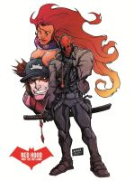 RED HOOD AND THE OUTLAWS. by curseoftheradio