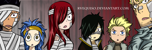 Fairy Tail Chapter 325 Colored - Shocked Face by kvequiso