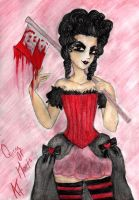 Queen Of Hearts by CaptainTorrez