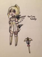 Mew Ivory Redesign by Winged-CatGirl-Kin