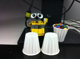 Wall-E gets musical by jemstone