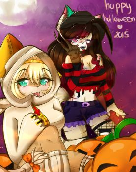 Halloween 2015 by andythewolfy