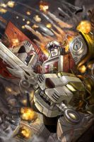 Voltron Cover issue no 2 by masterchomic