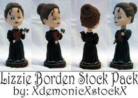 Lizzie Borden Stock Pack by XdemonicXstockX