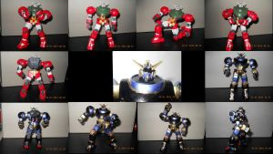 hg Mock Titus custom uncolored + colored by Vyse-Byakko