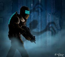 Dead Space 3 Horror by ebbewaxin