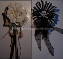 Eat Ink: Brooches by zeloco