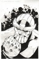 Thanos by MikeOppArt