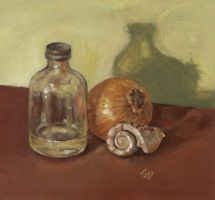 Still life with shell by artoftas