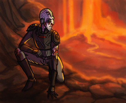 Inquisitor - On Mustafar by Teq-Uila