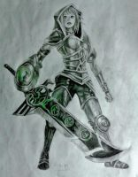 Riven, the Exile by InweAcaim7