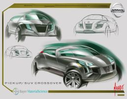 Nissan Mid-Size SUV concept 3 by sk8nrail
