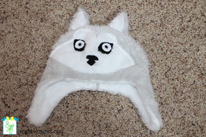 Fleece Wolf Hat by SugiAi