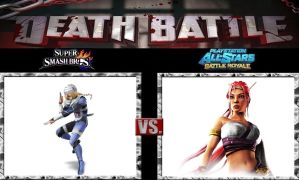 Death Battle Sheik vs Nariko by Werewolf-Hero