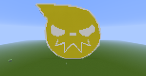 Soul Eater Logo Minecraft by loboparfire