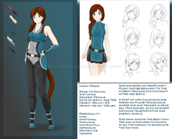 Character Sheet - Nashi by PearFlower