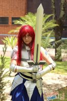 Erza, the knight by COSPLAYTITANIA