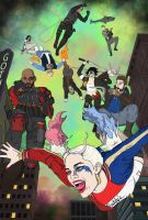 Suicide Squad by TeVon-Gary