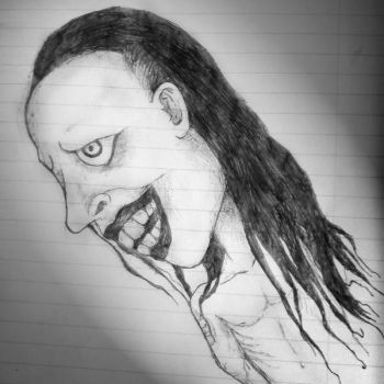 Marilyn Manson sketch by guy8891