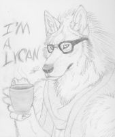 The Hipster Werewolf by Kigai-Holt