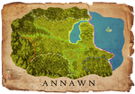 World of Annawn Map by scarletsp33dster