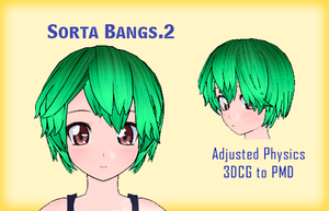 MMD- Sorta Bangs.2 -DL by MMDFakewings18