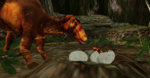 MMD Newcomer Dinosaur Nest + DL by Valforwing