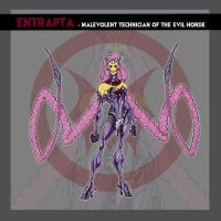Entrapta - Horde colors by thejason10
