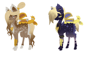 :Cursed Chest pony Adopts: by AzrealRou