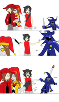 Comic Collab with Banzaigirl260 by DaxterBoyAwesome