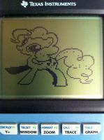 Graphing Calculator Ponies - Pinkie Pie by alxg833