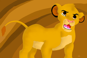 Simba - Loin King by BoWhatElse