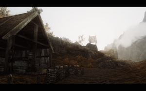 Setting off from Whiterun by amoebae