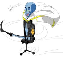 Megamind: WEEEEEEEeeee by Mao-Lee