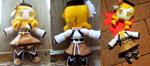 Mami Tomoe Plushie by frillycarnival