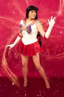 Sailor Mars Cosplay - Mars Crystal Power! by Kapalaka