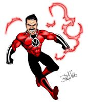 Angry Joe Red Lantern by wheretheresawil