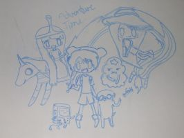 ADVENTURE TIME!!! by jamie23drawer