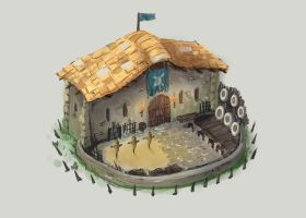 Training  Building Concept by BoChicoine