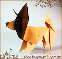 Papillon by KarenKaren