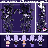 SHINY NEW COFFUU REF 2.0 by Coffee-and-Paperbags