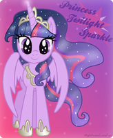 Princess Sparkle by NightmareLunaFan