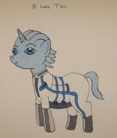 Dr. Liara T'Pony by IronBrony