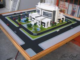 Architectural Scale Model  9 by COZEL